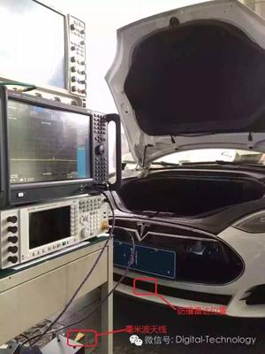 Tesla前向77GHz防撞雷达黑科技破解